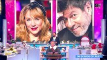 Qui de Régis ou Julie ? TPMP joue avec Régis Laspalès et Julie Depardieu
