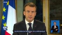 """Emmanuel Macron annonce que """"le salaire d'un travailleur au smic augmentera de 100 euros par mois dès 2019"""""""