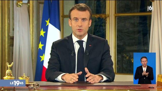"""""""Gilets jaunes"""" : la réponse d'Emmanuel Macron"""