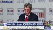 """Jean-Luc Mélenchon reproche qu'""""aucune des revendications pour davantage de démocratie participative ne reçoit de réponse"""""""