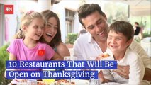 Restaurant Choices Open On Thanksgiving