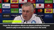 Eng Sub: Carlo Ancelotti on Liverpool winning the Premier League and Anfield atmosphere