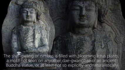 Namsan Mireukgok Stone Yeoraejwasang 700-800 C.E.