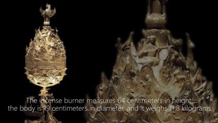 Great Gilt-bronze Incense Burner of Baekje 500 C.E. – 660 C.E.