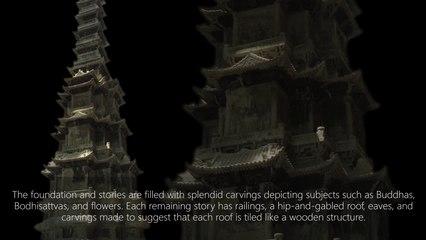 Ten-story Stone Pagoda from Gyeongcheonsa Temple Site 1348 C.E.