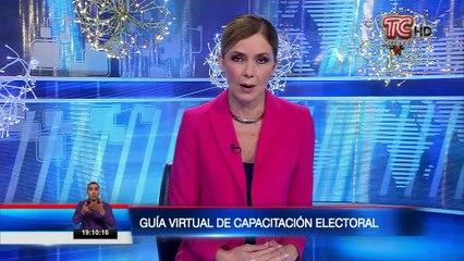 CNE presentó Guía virtual de capacitación electoral