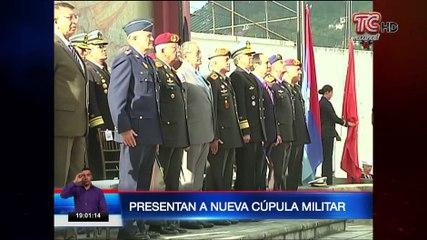 Presentan a nueva cúpula militar