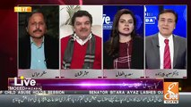 Mubashir Luqman & Sadia Afzal Grills Nusrat Javed