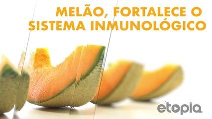 Melão, fortaleça seu sistema imunológico.