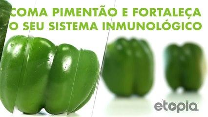 Consome pimentas e reforça seu sistema imunológico.