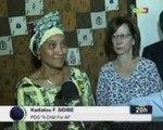 ORTM/Le Premier ministre reçoit la PDG de l'organisation 'A Child For All' Kadiatou SIDIBE qui demande l'appui des autorités Malienne et une délégation des Nations Unies