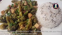 Broccoli - Tofu (Stir Fry) Chinese Style ,  Broccoli Tofu Stir Fry Chinese Style takeout ,  Crispy Tofu Broccoli ,   ब्रोकोली टोफू चीनी शैली ,  Chinese Food ,  Chinese Recipe ,  Restaurant Style Chinese Food ,  Big Fooodies Recipe Videos ,  Big Fooodies ,  Foodie