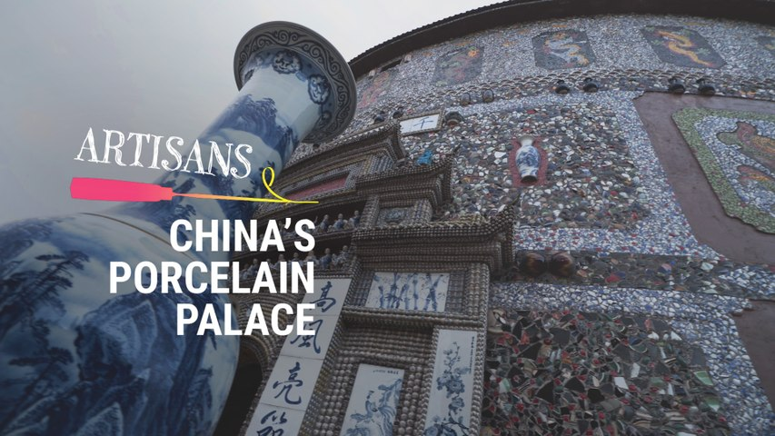 The 88-Year-Old Chinese Woman Who Made Her Own Porcelain Palace