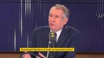 """François Bayrou : """"C'est un nouvel acte qui s'ouvre"""""""