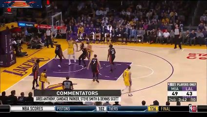 kyle Kuzma Full Highlights 2018.12.10 Lakers vs Heat