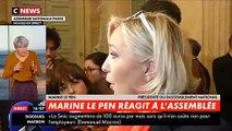 """Marine le Pen prend pour cible Franck Dubosc à l'Assemblée Nationale et ironise """"sur ses retournements de veste"""" à propos des gilets jaunes"""