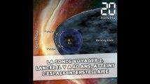 La sonde Voyager 2, lancée il y a 41 ans, atteint l'espace interstellaire