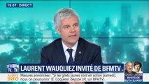 """Annonces d'Emmanuel Macron: Laurent Wauquiez craint que """"les mesures d'aujourd'hui fassent les impôts de demain"""""""