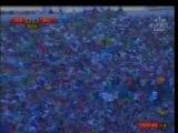 Public Rajaoui lors du match RAJA # DHJ