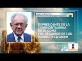 Quién es Javier Jiménez Espriú, Secretario de Com. y Transportes | Noticias con Francisco Zea