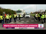 Alerta máxima en París por protestas contra alza de precios de combustibles   Noticias con Yuriria