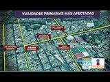Las calles de la CDMX más afectadas por peregrinos | Noticias con Francisco Zea