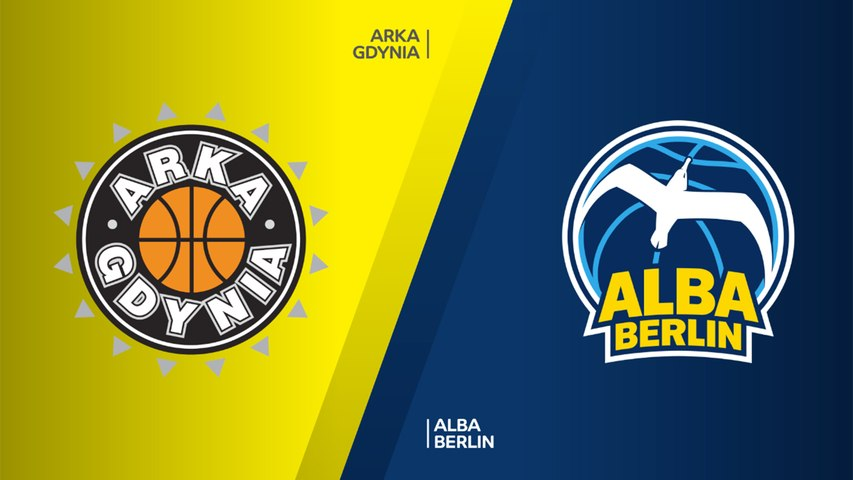 Arka Gdynia - ALBA Berlin Highlights | 7DAYS EuroCup, RS Round 9