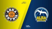 Arka Gdynia - ALBA Berlin Highlights | 7DAYS EuroCup, RS Round 9