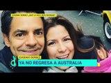 ¿Eugenio Derbez cambiará estilo de vida por su hija Aitana? | De Primera Mano