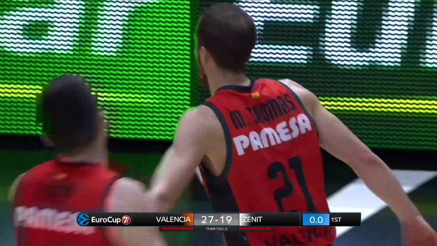 Valencia Basket - Zenit St Petersburg Highlights | 7DAYS EuroCup, RS Round 9