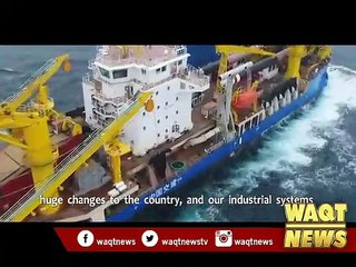 China builds state of the art dredging vessel