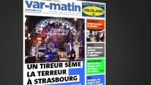 La fusillade de Strasbourg à la une de la presse ce mercredi matin