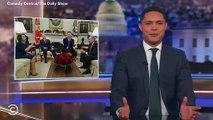 Trevor Noah Pokes Fun At Trump, Pelosi and Schumer's Oval Office Spat