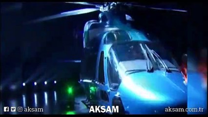 Cumhurbaşkanı Erdoğan milli helikopterimizin adını böyle duyurdu