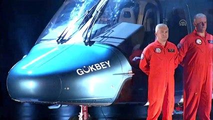 Türkiye'nin yeni helikopterinin adı 'Gökbey' oldu