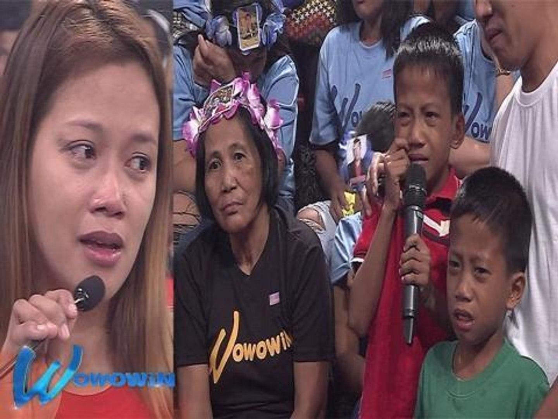 Wowowin: OFW na ina, pinipigilang umalis ng mga anak