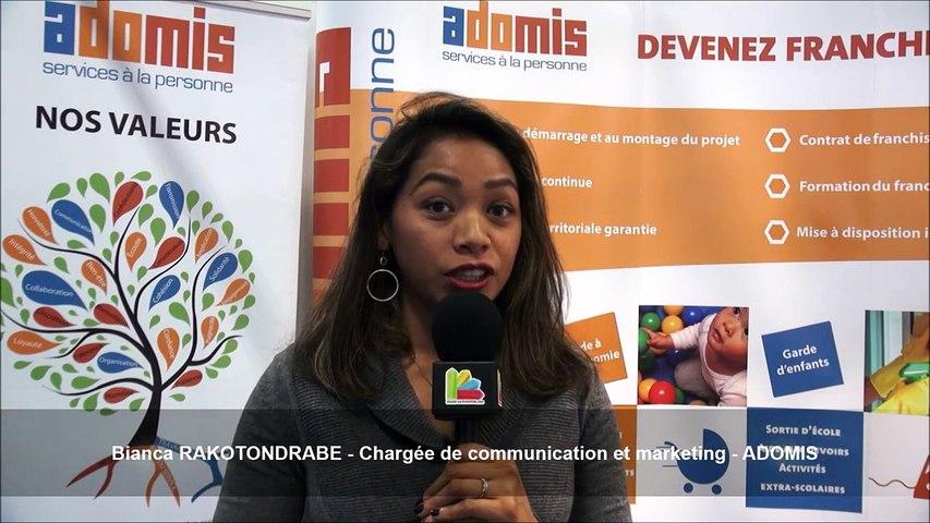Bianca RAKOTONDRABE - Chargée de communication et marketing chez ADOMIS