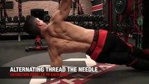 Alternating thread the needle