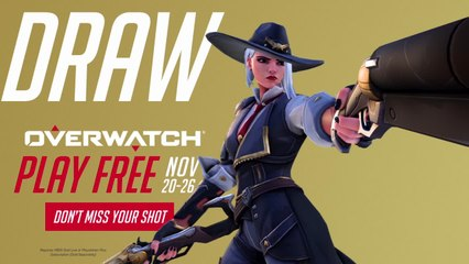 Overwatch FREE Trial   November 20 - 26