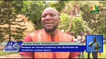 RTB - Commémoration du 58ème anniversaire du Burkina par les Burkinabé vivant au Ghana à la résidence de l'ambassadeur du Burkina à Accra