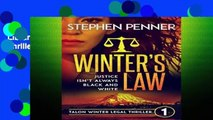 Library  Winter s Law  Talon Winter Legal Thriller #1 (Talon Winter Legal Thrillers)