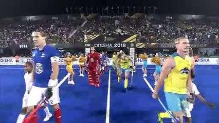 Australia vs France Highlights - Men's Hockey World Cup