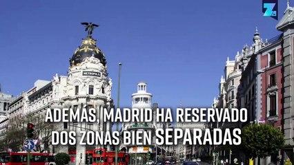 Todo está listo en Madrid para la gran final entre River y Boca