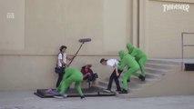 Parodie du tournage d'une vidéo de Skate LOL