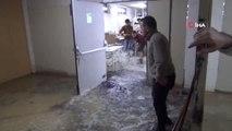 Şiddetli Yağış Nedeniyle 300 Kişilik Tekstil Atölyesini Su Bastı