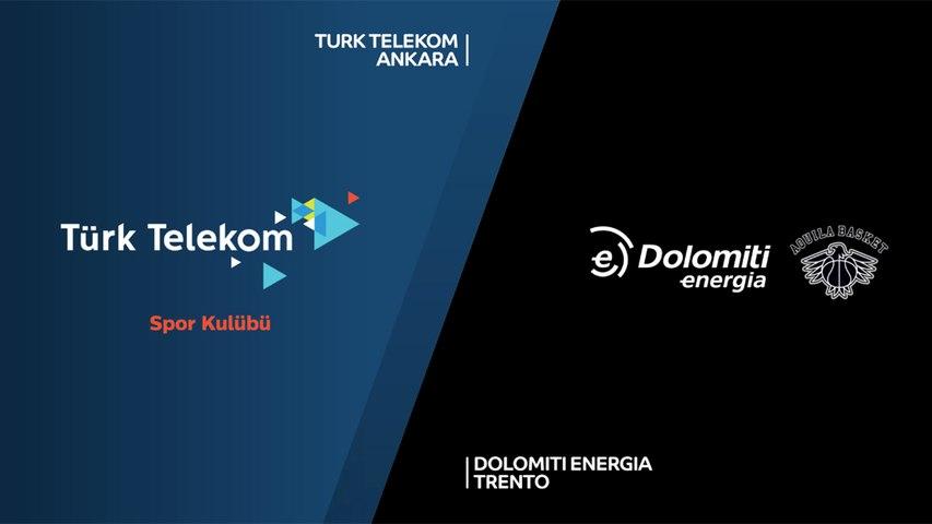 Turk Telekom Ankara - Dolomiti Energia Trento Highlights | 7DAYS EuroCup, RS Round 9