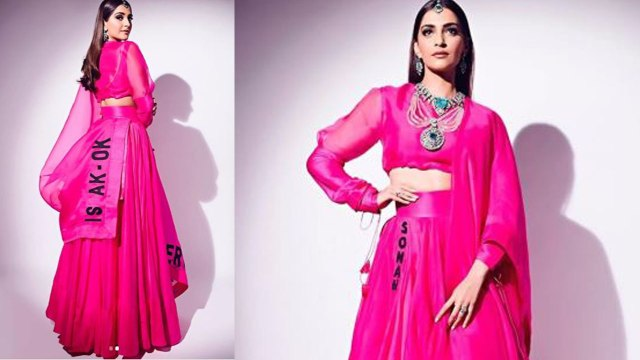 Isha Ambani Wedding: Sonam Kapoor looks pretty in Cool Lehenga Style; Watch Video | FilmiBeat