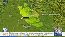 Un gilet jaune de 23 ans tué à Avignon après avoir été percuté par un camion