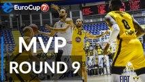 7DAYS EuroCup Regular Season Round 9 MVP: Rok Stipcevic, Rytas Vilnius