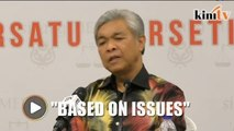 'Our cooperation with PAS is based on issues'